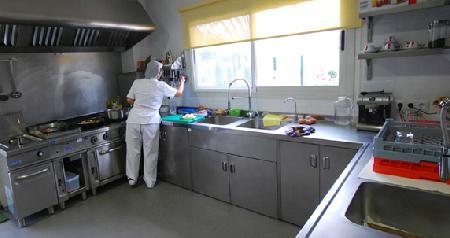 Cocina escuela infantil Peque Natura